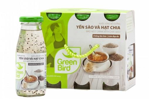 Nước Yến Sào &Hạt Chia – Green Bird – Yến Sào Khánh Hòa Hà Nội