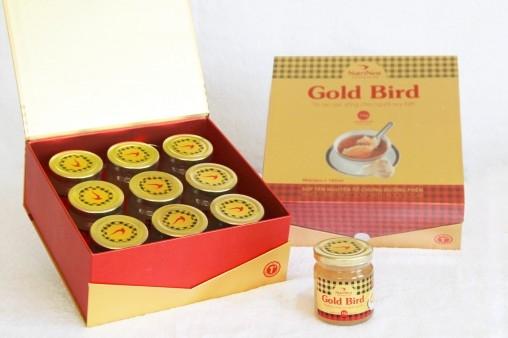 Súp Yến Chưng Đường Phèn Gold Bird - 90g Yến Nguyên Tổ - Hộp Quà