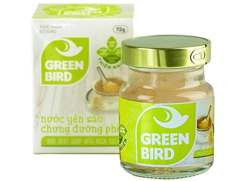 Nước Yến Green Bird  Lọ Đơn 72gr