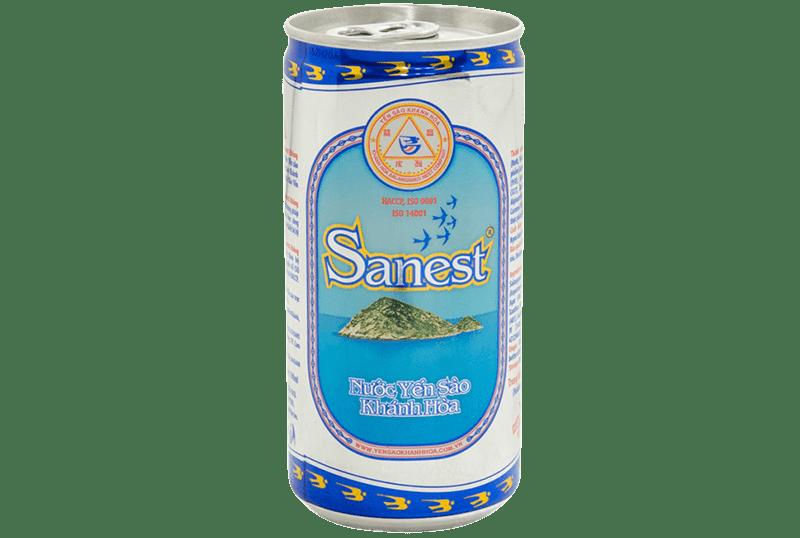 Nước yến Sanest không đường lon 190ml