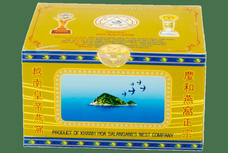 Yến sào Khánh Hòa tinh chế hộp đơn 3g