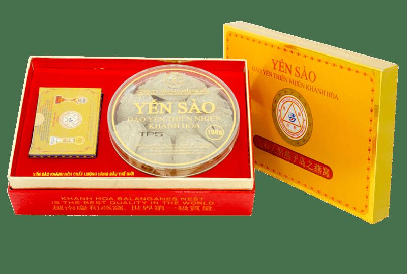 Yến sào Khánh Hòa – Yến đảo Yến Bài 100g loại 3