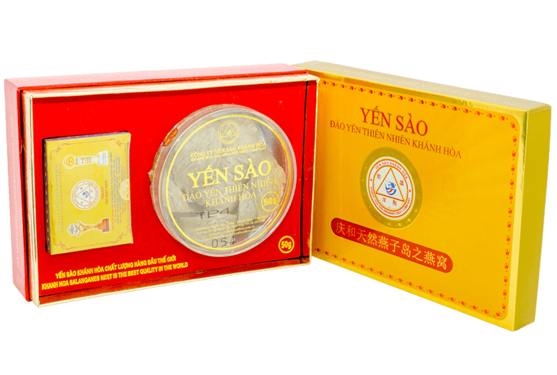 Yến sào Khánh Hòa – Yến đảo Yến Bài 50g loại 2