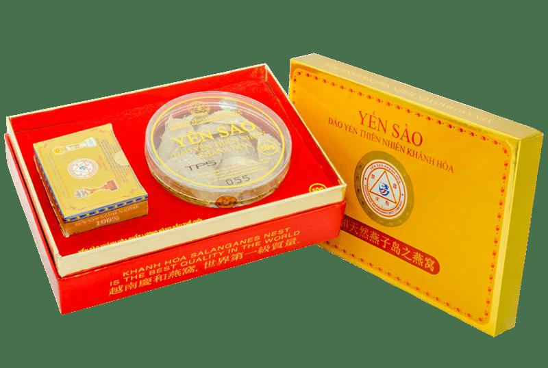 Yến sào Khánh Hòa – Yến đảo Yến Bài 50g loại 3