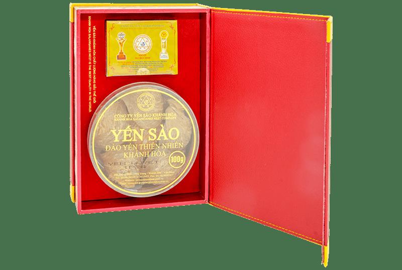 Yến sào Khánh Hòa- Yến đảo Yến huyết 100g