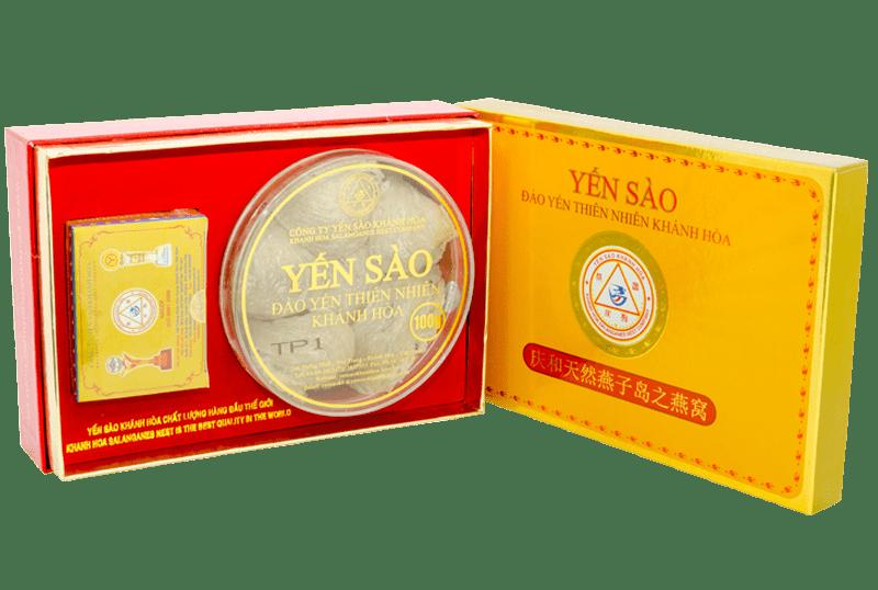 Yến sào Khánh Hòa – Yến đảo Yến Quang 100g