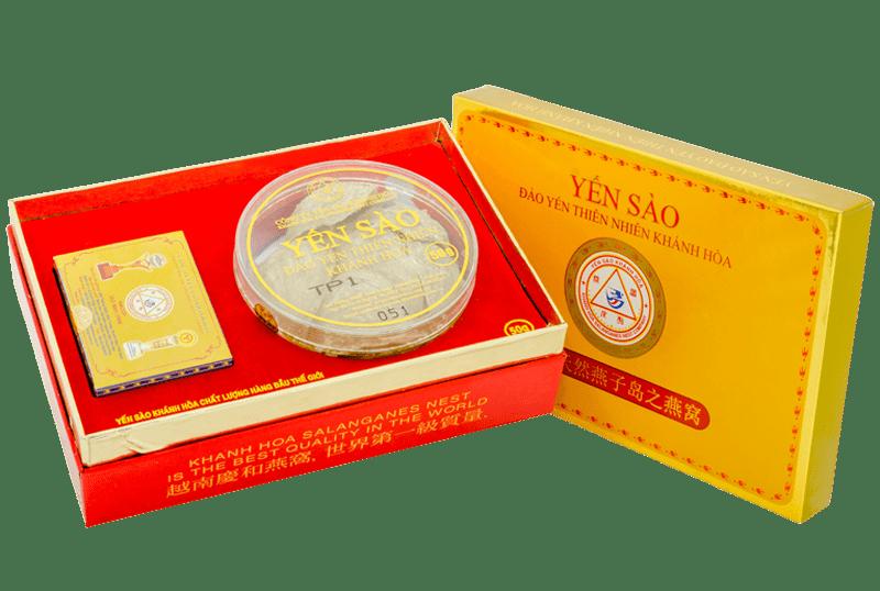 Yến sào Khánh Hòa – Yến đảo Yến Quang 50g